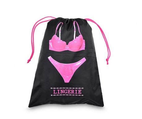 Saculet pentru lenjerie intima Pink Lingerie