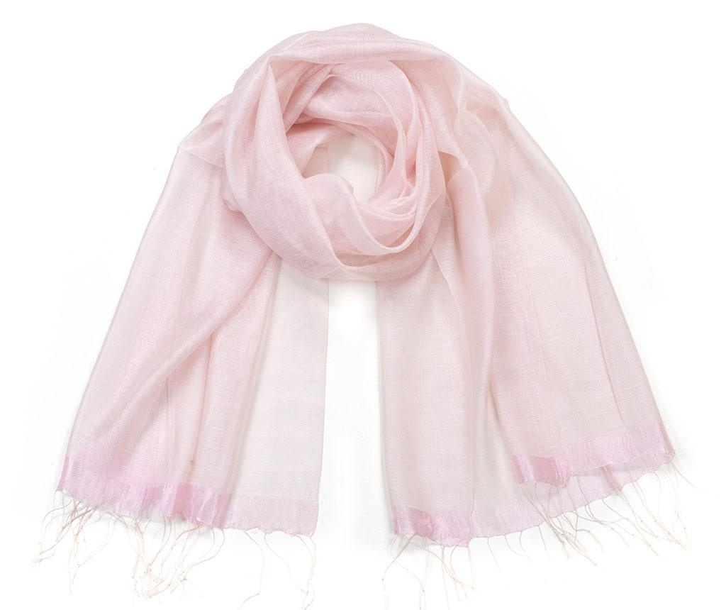 Esarfa Jade Light Pink 70x180 cm