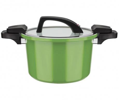 Energie Green Lábas fedővel 6 L