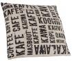 Okrasna blazina Cafe Pattern 45x45 cm