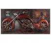 Stenska dekoracija Antiques Motorcycle