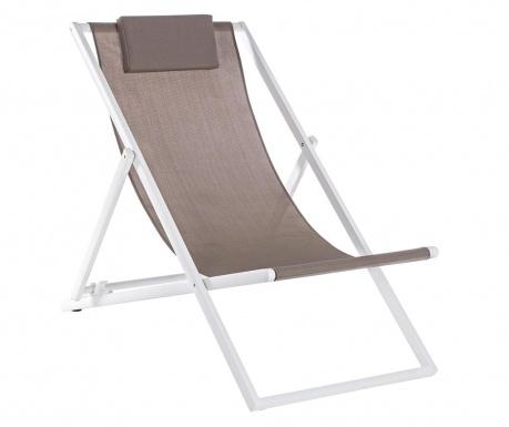 Scaun pliabil pentru plaja Taylor Brown Tall