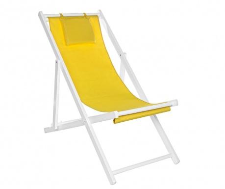 Składane krzesło zewnętrzne Sun Yellow Tall