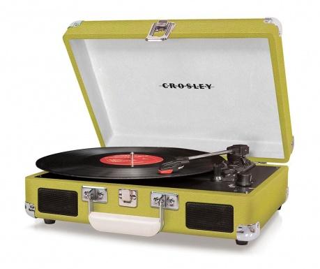 Gramofon Crosley Cruiser Deluxe Green