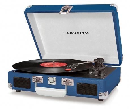 Грамофон Crosley Cruiser Deluxe Blue