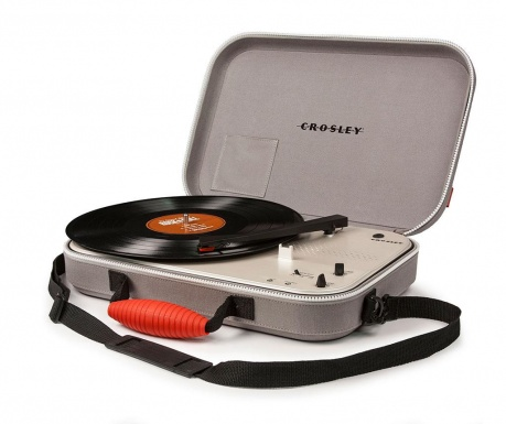 Gramofon Crosley Messenger Grey
