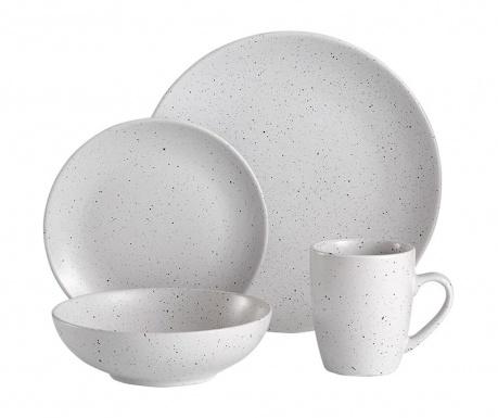 Sable Speckled White 16 darabos Étkészlet