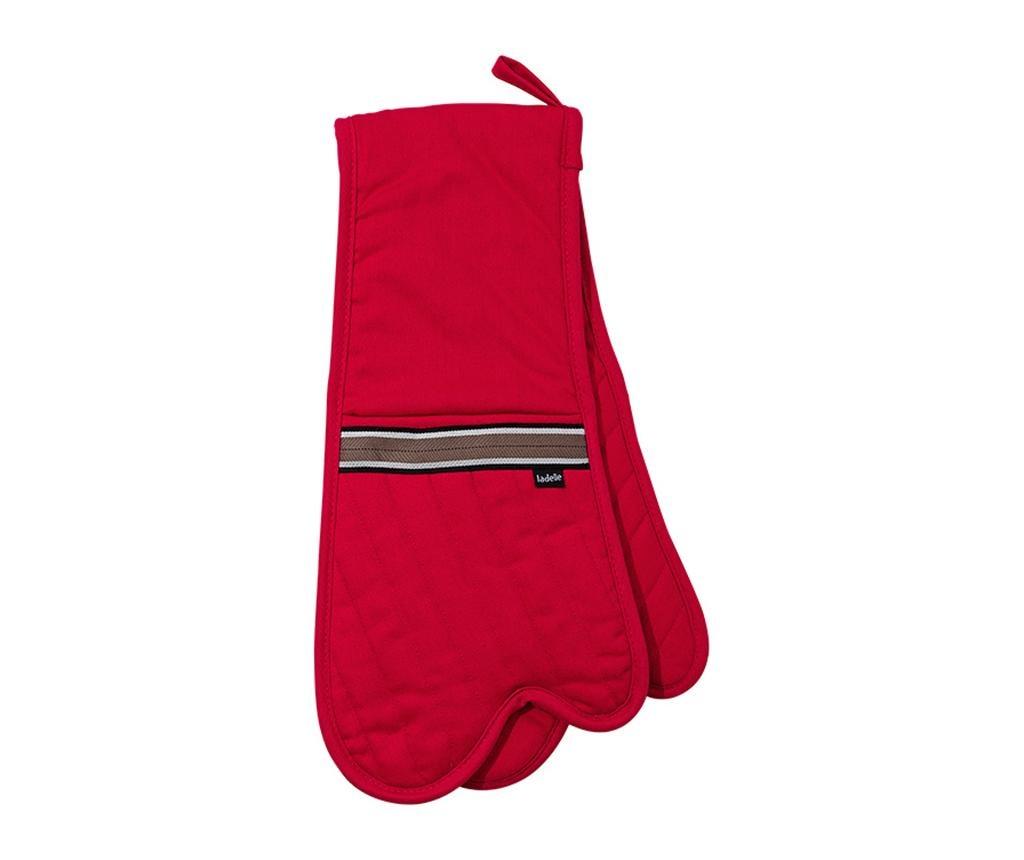 Dvostruka kuhinjska rukavica Professional Red