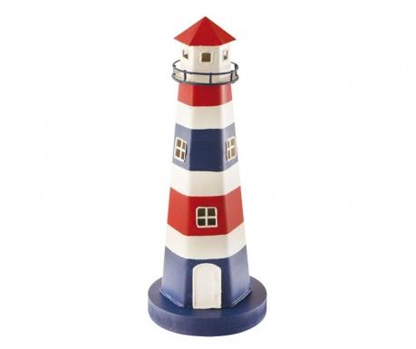 Lighthouse Blue and Red Fénydekoráció