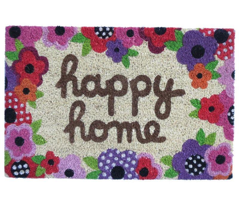 Входна изтривалка Happy Home 40x60 см