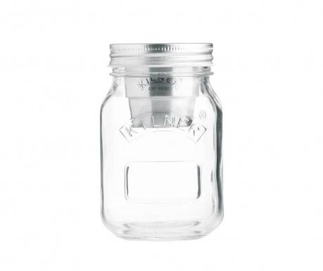 Mina Go Befőttesüveg fedővel 500 ml