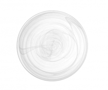 Set 6 farfurii adanci Transparente Snaky