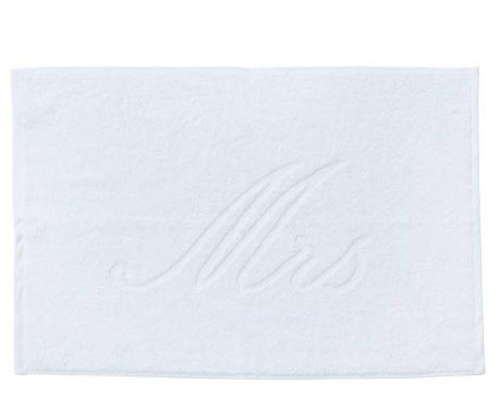 Uterák na nohy Mrs Style White 50x70 cm