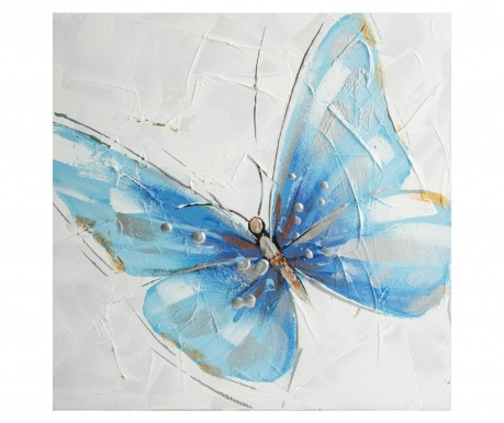 Картина Blue Butterfly 30x30 см