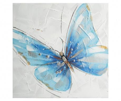 Obraz Blue Butterfly 30x30 cm