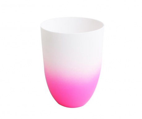 Suport pentru lumanare Neon White Pink