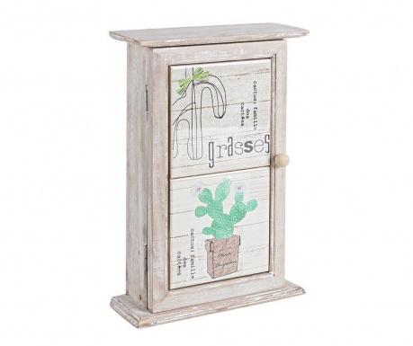Cactus Kulcstartó szekrényke