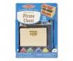 Pirate Chest 35 darabos Dekorálható koffer láda szett