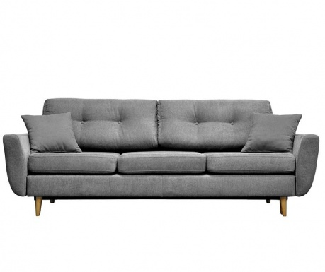 Canapea extensibila 3 locuri Rosa  Grey