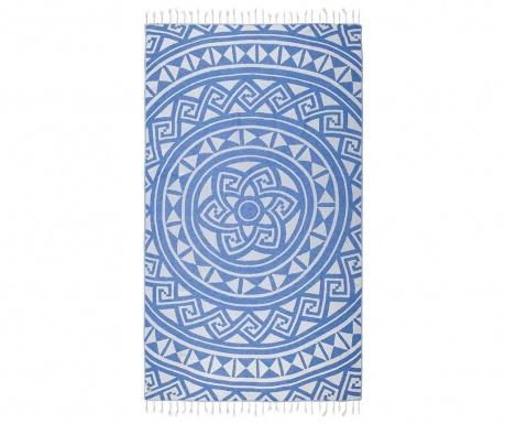 Kupaonski ručnik Pestemal Mirabelle Blue 100x165 cm