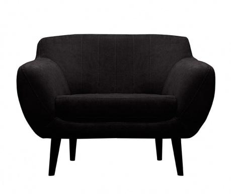 Toscane  Black Fotel