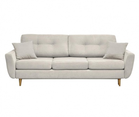 Canapea extensibila 3 locuri Rosa  Cream
