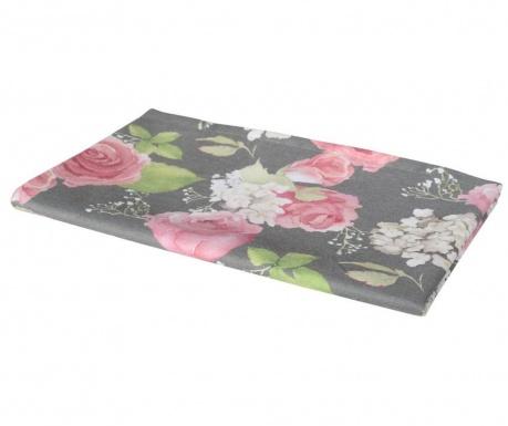 Nadstolnjak Flowery Dark 40x140 cm
