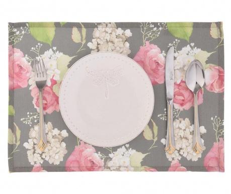 Set 2 podmetača Flowery Dark 33x45 cm