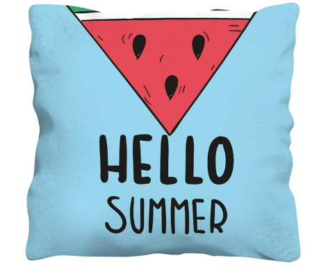 Perna decorativa Hello Summer 43x43 cm