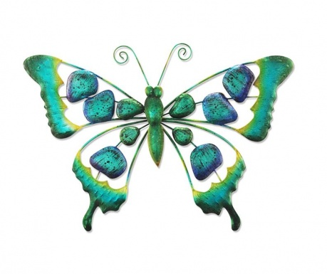 Decoratiune de perete Design Butterfly Down