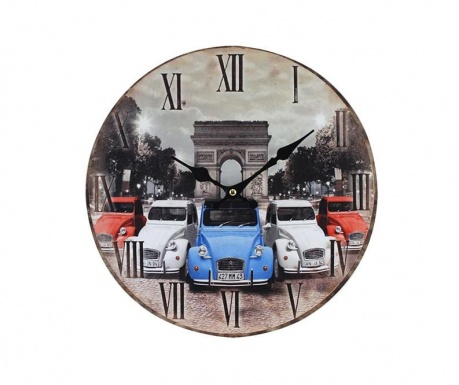 Nástěnné hodiny Old Paris