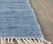 Covor tip pres Saltillo Ivory Dark Blue 120x180 cm
