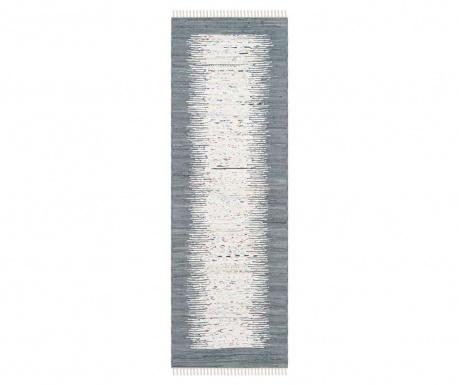 Saltillo Grey Rongyszőnyeg 68x182 cm