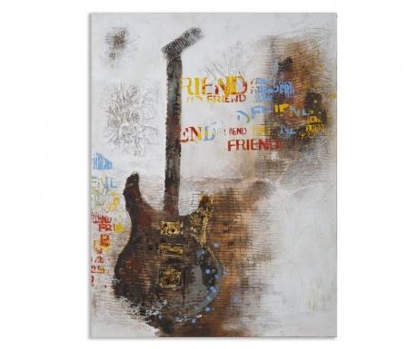 Obraz Guitar Love 90x120 cm