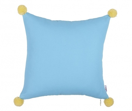 Poszewka na poduszkę Clover Blue and Yellow 41x41 cm