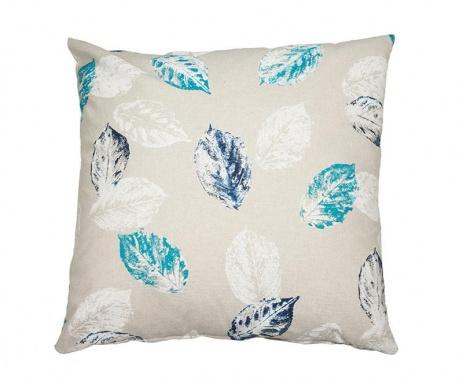 Poduszka dekoracyjna Blue Leaves 60x60 cm