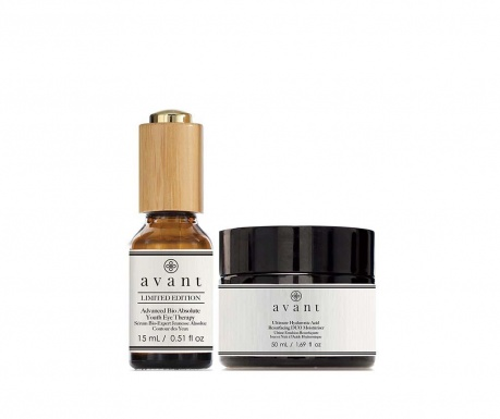 Set of anti-aging eye serum and intensive hydrating cream Limited Deluxe