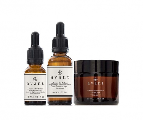 Set of 2 serums and face mask Advanced Radiance