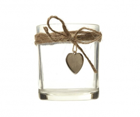 Candle holder Heart