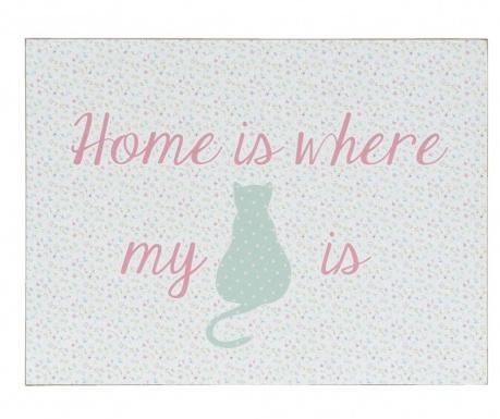 Obraz Where My Cat Is 30x40 cm