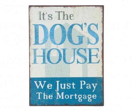 Nástenná dekorácia Dog's House