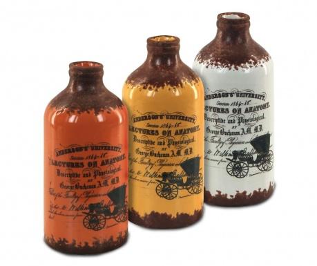 Sada 3 váz Vintage