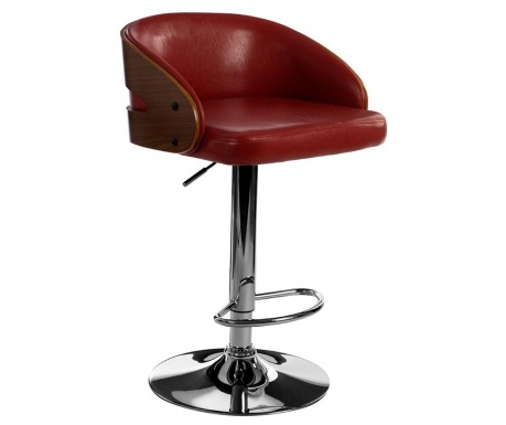 Bar stool Florence Claret Red