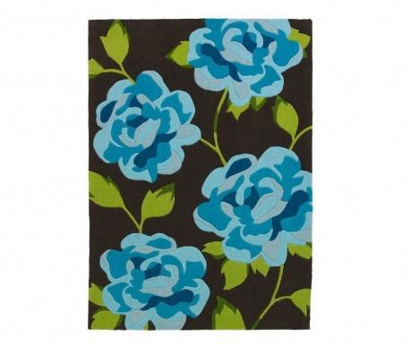 Koberec Hong Kong Brown Blue 170x120 cm