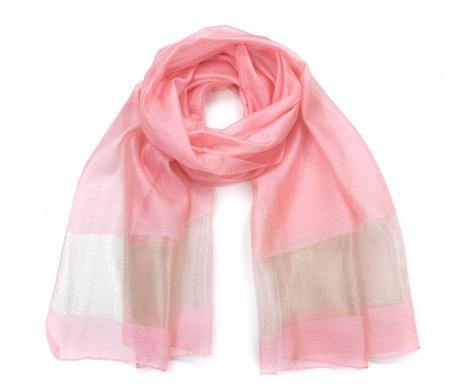 Šátek Fine Pink 70x196 cm