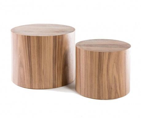 Set of 2 coffee tables Amalfi Round