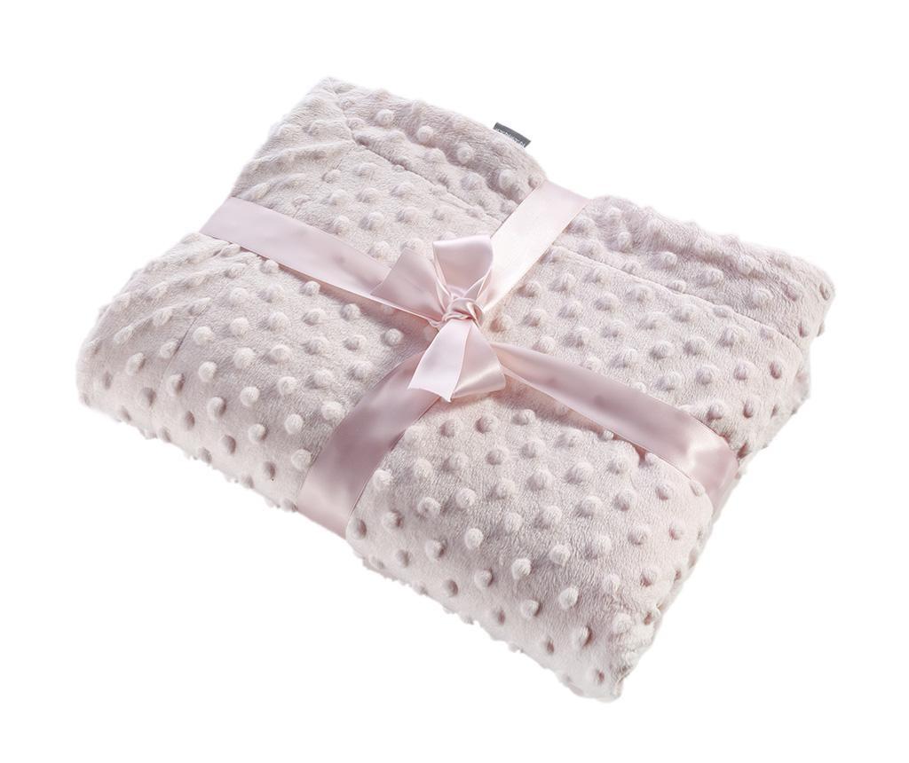 Pled Bubbles Pink 110x140 cm
