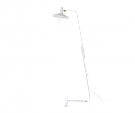 Podlahová lampa Roma White