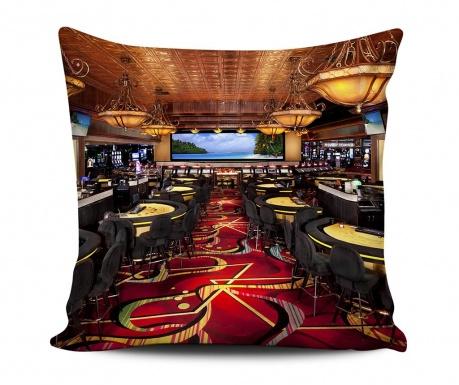 Dekorační polštář Casino 43x43 cm