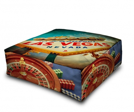 Floor cushion Las Vegas Nevada 60x60 cm